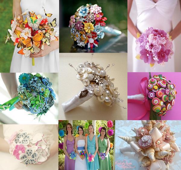 Alternative Wedding Bouquet Ideas The Wedding Community Blog