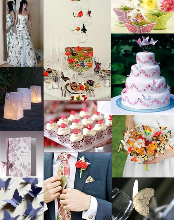 This wedding mood board will give you some ideas of the type of things you