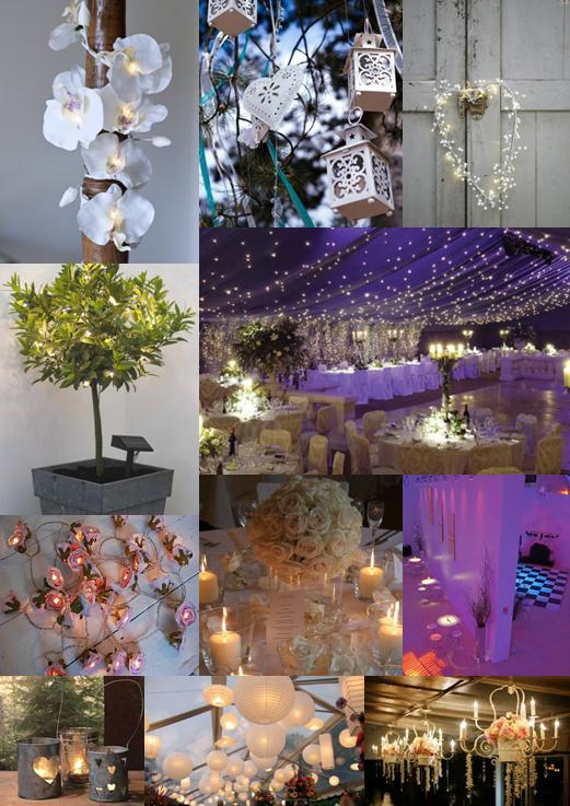 Ask your wedding venue what they can provide for atmospheric lighting