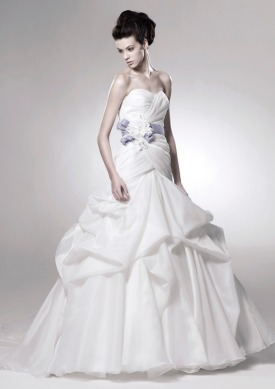 Picture of Dallas Wedding Dress - Blue by Enzoani 2011 Collection