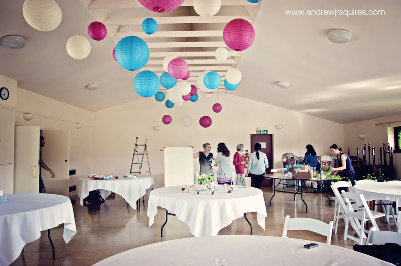 Wedding reception room by Andrew J R Squires Photography