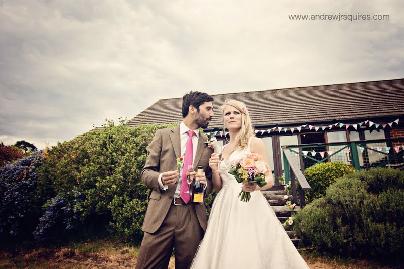 Bride and groom together by Andrew J R Squires Photography