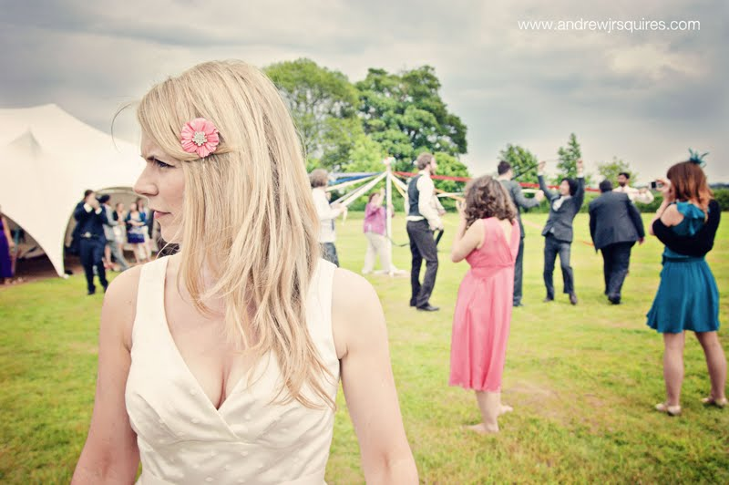 Picture of a bride at her wedding by Andrew J R Squires Photography