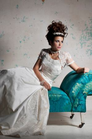 Grace wedding dress from the Terry Fox Classic With A Twist 2011 Collection