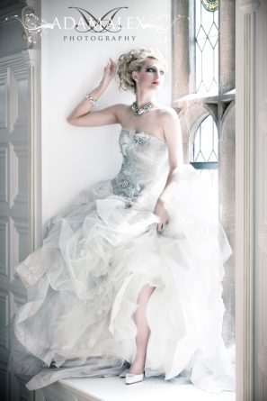 Northern Lights wedding dress from the Terry Fox The Hengrave Collection 2011