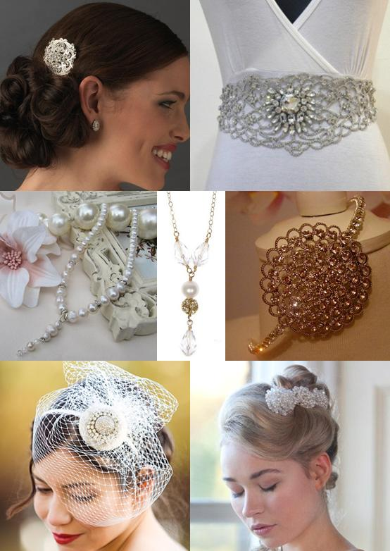 Vintage Wedding Jewellery and