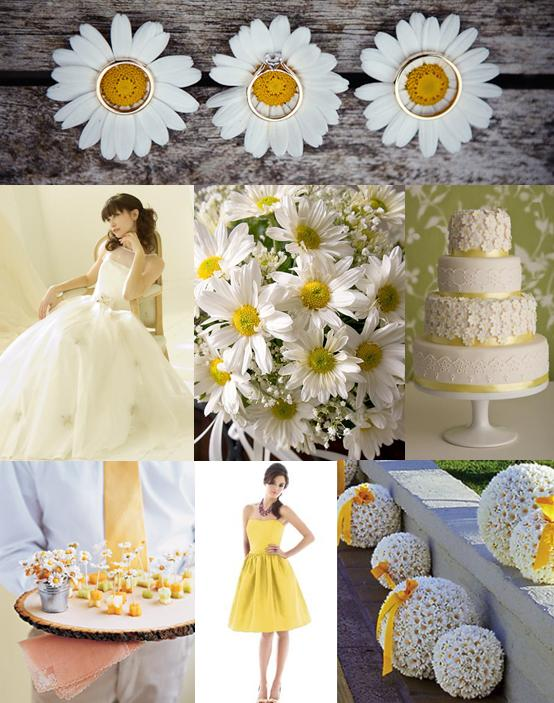 Here are some of our favourite daisy wedding ideas
