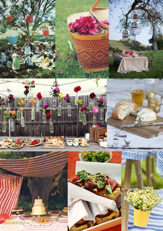Wedding Picnic Ideas Mood Board