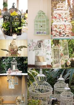 Vintage Wedding Decorations on Vintage Birdcage Wedding Decorations Mood Board
