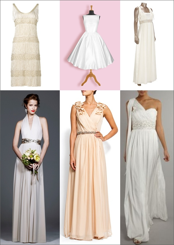 Wedding Dresses Under £500 Mood Board