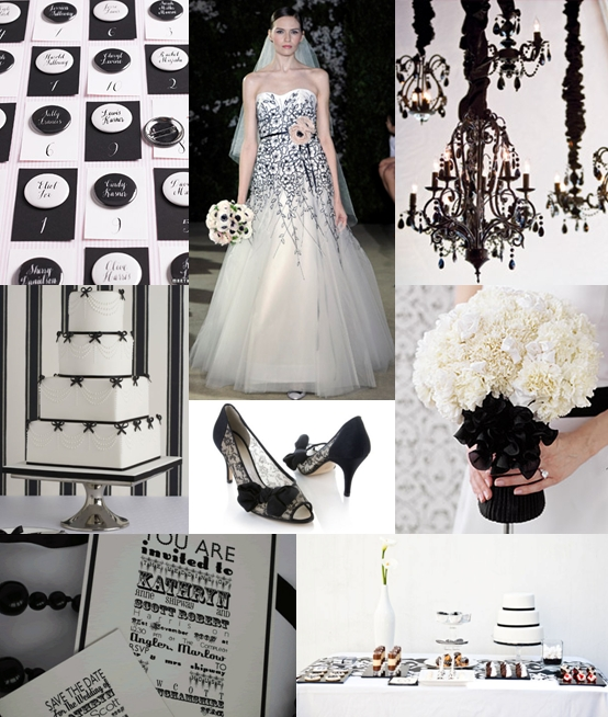 Black White Wedding Ideas: Vila's Blog: Or Ask Everyone To Wear One Item Or Accessory