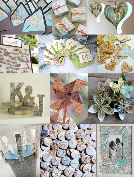 Georgettes blog for a later fall wedding choose a simple bouquet map wedding theme mood board map wedding invitations i do it yourself solutioingenieria Gallery