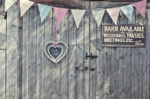 Barn entrance at the Fleece Inn - Picture by Theresa Furey Photography