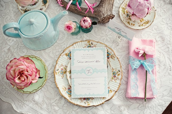 Pink and turquoise wedding shoot Picture by Marianne Taylor Photography