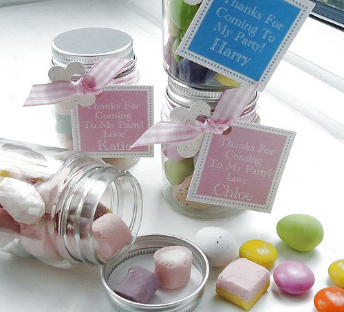 Sweetie Jars from Tailored Chocolates