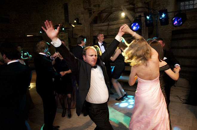 Guests dancing at wedding - Picture by Gill Maheu Photography